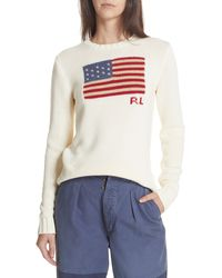Polo Ralph Lauren Flag Sweater - Multicolour