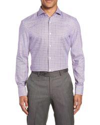 BOSS - Jason Slim Fit Plaid Dress Shirt - Lyst