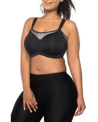 Curvy Couture | Ultimate Fit Underwire Sports Bra | Lyst