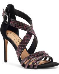 Jessica Simpson Mahley Strappy Sandal - Black