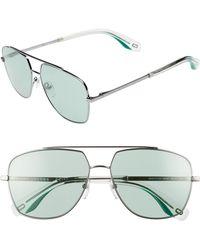Marc Jacobs - 58mm Navigator Sunglasses - - Lyst