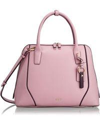 Tumi - Stanton Janet Leather Dome Satchel Briefcase - Lyst