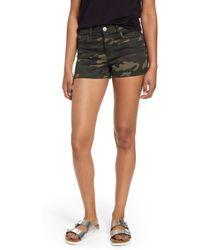 Tinsel Cuffed Shorts - Black