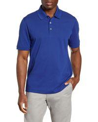 Cutter & Buck Advantage Golf Polo - Blue