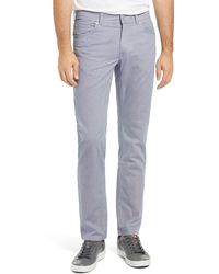 Brax Cooper Fancy Five-pocket Pants - Blue