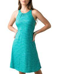 Prana Skypath A-line Dress - Blue