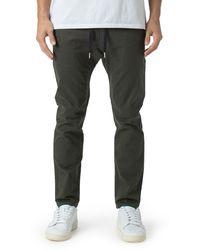 Zanerobe Sureshot Chino Sweatpants - Green