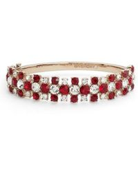 Givenchy - Crystal Bangle Bracelet - Lyst