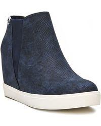 Matisse Lure Platform Sneaker Boot - Blue