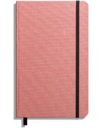 Shinola Hardcover Linen Journal - Pink