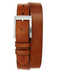 Magnanni Shoes | Hand Antiqued Leather Belt | Lyst