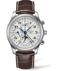 Longines - Master Collection Chronograph - Lyst
