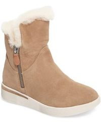Gentle Souls - Hazel Levitt Genuine Shearling Lined Boot - Lyst