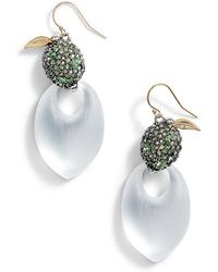 Alexis Bittar - Lime Lucite Earrings - Lyst
