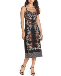 Foxiedox - Retro Flower Embroidered Dress - Lyst