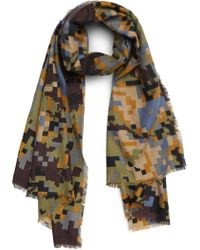 BP. - Pixelated Camo Scarf - Lyst