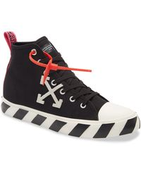 Off-White c/o Virgil Abloh Sneakers With Logo Black
