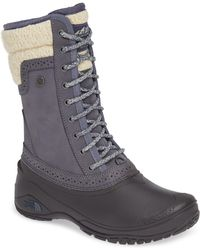 The North Face - Shellista Waterproof Insulated Snow Boot - Lyst