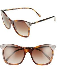 Burberry - Heritage 54mm Square Sunglasses - - Lyst