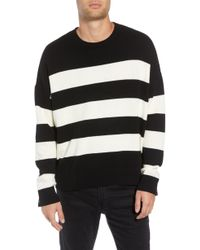 The Kooples - Classic Fit Striped Sweater - Lyst