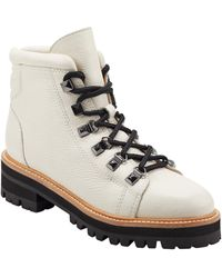 Marc Fisher Issy Hiker Boot - White