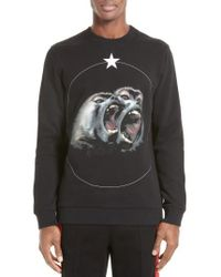 Givenchy - Monkey Brothers Graphic Sweatshirt - Lyst