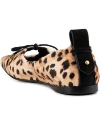 FRAME Le Sunset Square Toe Ballet Flat - Black
