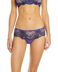 Jason Wu Collection Jason Wu Lace Hipster Panties - Blue