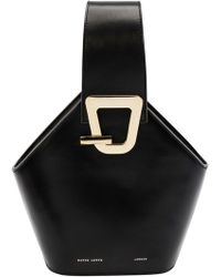 Danse Lente - Mini Johnny Leather Bucket Bag - - Lyst