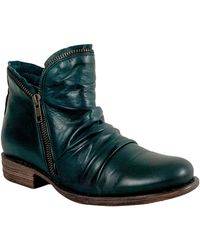 Miz Mooz 'luna' Ankle Boot - Green
