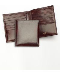 Bosca - Old Leather Card Wallet - Lyst