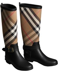 Burberry Boots Women S Ankle Boots Amp Leather Boots Lyst