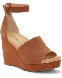 Lucky Brand - Yemisa Wedge Ankle Strap Sandal - Lyst