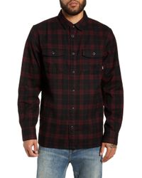a9745720 Lyst - Vans Alameda Ii Plaid Flannel Shirt in Red for Men