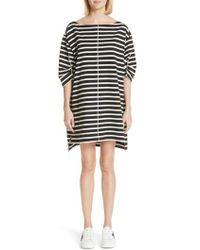 Marc Jacobs - Stamped Stripe Dress - Lyst