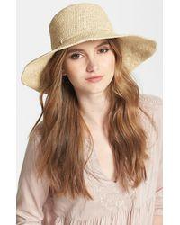 Helen Kaminski Tahani Raffia Hat - Natural