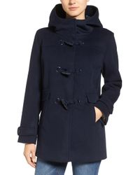 Pendleton - Roslyn Waterproof Lambswool Blend Hooded Coat - Lyst