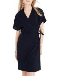 Madewell - Gauze Wrap Dress - Lyst