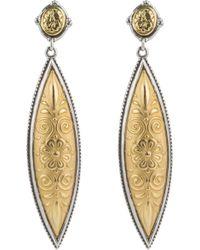 Konstantino - Gaia Drop Earrings - Lyst