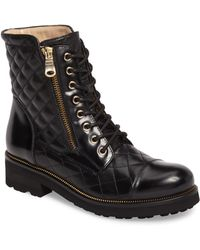 Ron White - Tiffany Water Resistant Combat Boot - Lyst