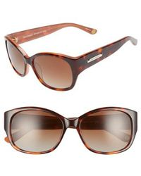 Juicy Couture - Shades Of Couture By 54mm Polarized Sunglasses - - Lyst