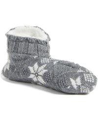 Ralph Lauren - All Over Snowflake Bootie - Lyst