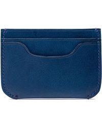 Bosca - Italo Leather Card Case - Lyst
