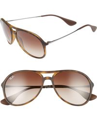 995c429e3f3 Lyst - Ray-Ban Youngster Keyhole Sunglasses in Natural for Men