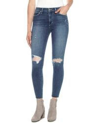 Joe's - Charlie High Waist Ankle Skinny Jeans - Lyst