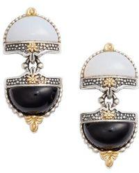 Konstantino - Sterling Silver & Agate Drop Earrings - Lyst