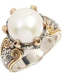 Konstantino - Hermione Cultured Pearl Statement Ring - Lyst