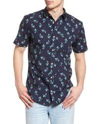 The Rail - Print Woven Shirt - Lyst