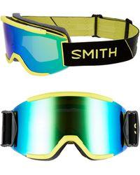 Smith Squad Chromapop 180mm Snow Goggles - Citron Glow - Green