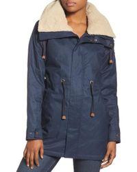 Burton - Hazelton Water-resistant Hooded Jacket With Removable Fleece Lining - Lyst